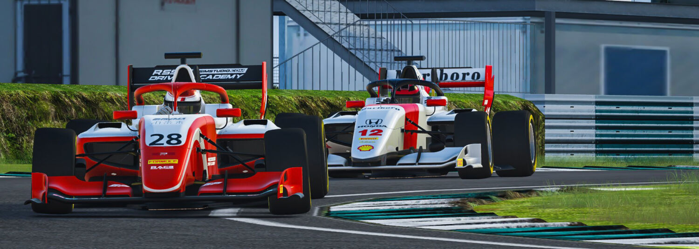 Sim racing i Esport Harte